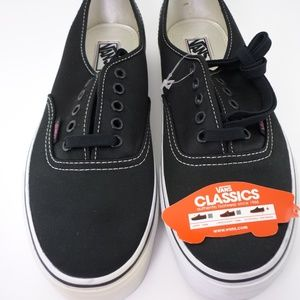 Vans NWB Black Authentic Canvas Unisex 10.5